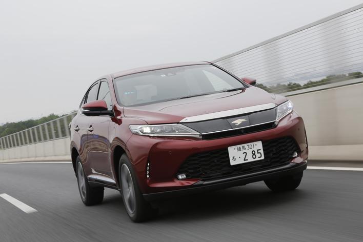 トヨタ 新型ハリアー 2リッターターボ搭載車(2017年6月マイナーチェンジ)