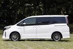 トヨタ 新型ノア(2017年7月マイナーチェンジ)サイドビュー