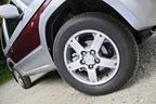 パジェロミニ:タイヤ