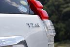トヨタ ランドクルーザープラド TZ-G リアエンブレム