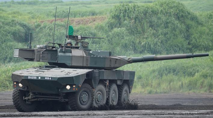 陸上自衛隊のはたらくくるま】16式機動戦闘車からAAV7水陸両用車まで ...