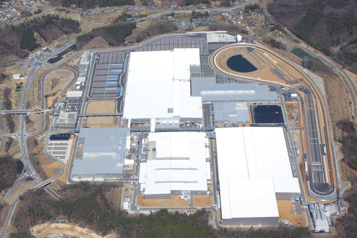 ホンダ埼玉製作所寄居完成車工場(埼玉県大里郡寄居町), 2013年に稼働を開始した新しい拠点で年間25万台の生産能力を有する
