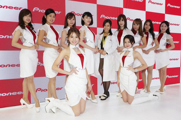 東京モーターショー2017 コンパニオン パイオニアブース