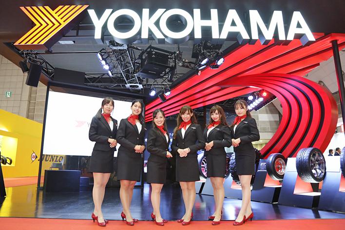 YOKOHAMA、高い技術力を象徴するゴムの技術や未来へ向けた次世代技術を紹介【東京モーターショー2017】