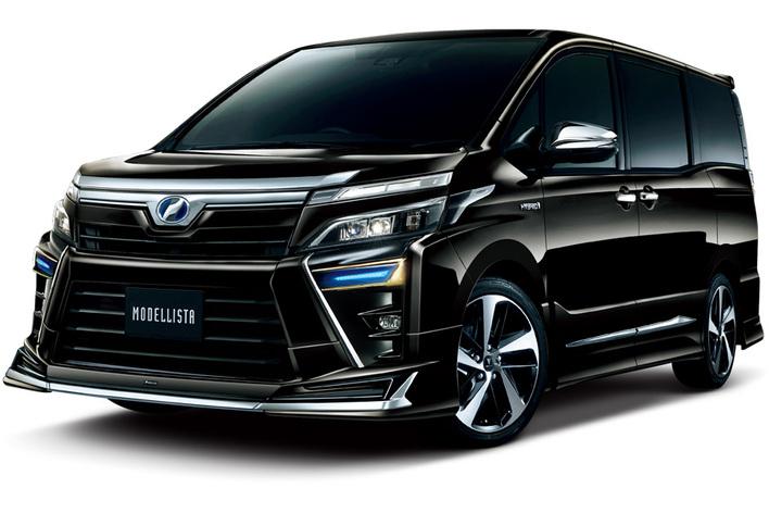 トヨタ 新型ヴォクシーZS\u201c煌\u201d専用モデリスタパーツ発売