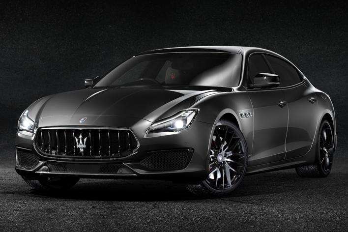 マセラティ、「漆黒」の名を冠したクアトロポルテ GTSの特別モデルを8台限定販売