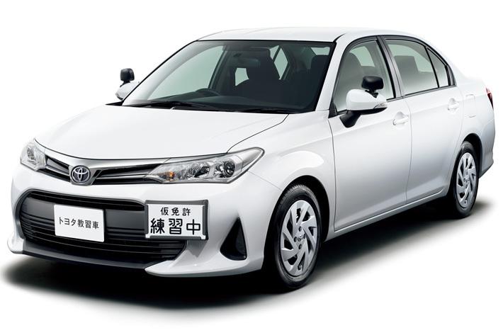 正式車名「トヨタ 教習車」もカローラファミリーの一員だ!