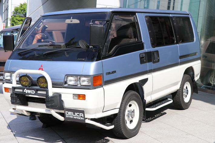 デリカスターワゴンは後継モデルにあたるデリカスペースギア搭乗後もしばらく併売されるほど人気のあったモデルである