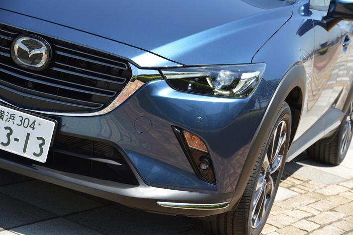 マツダ CX-3(2018年大幅改良モデル) 2.0リッターガソリンエンジンモデル グレード: 20S PROACTIVE S Package│駆動方式:2WD│ボディカラー:エターナルブルーマイカ