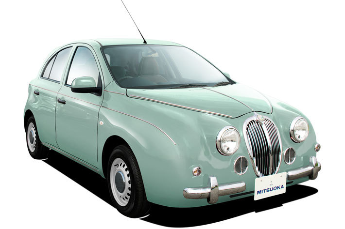 光岡 ビュートに限定車「ビュートなでしこ フレンチマカロン」が登場