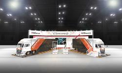 日野自動車、「東京オートサロン2019」に出展 | 著名クリエイターとコラボしたブースを展開