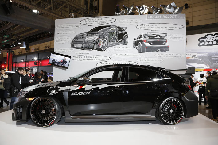 CIVIC TYPE R MUGEN RC20GT Package Pre Production MODEL[東京オートサロン2019/Honda&無限ブース]