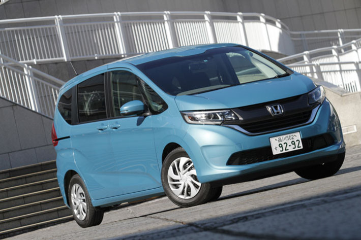 ホンダ フリード G Honda SENSING(オプション装着車)[FF・6人乗り・ガソリンモデル/ボディカラー:ブルーホライゾン・メタリック]
