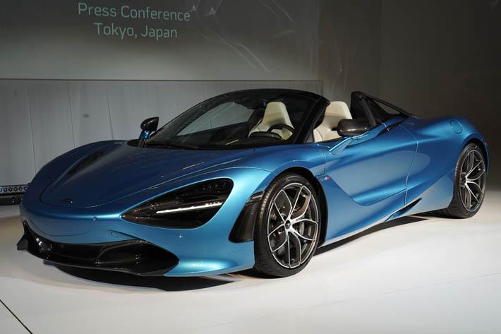 マクラーレン最速のオープンモデル 「720S スパイダー」を日本でお披露目