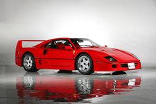 フェラーリ F40、オークションでの落札額が1億円超を記録【東京オートサロン2019】