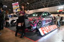 フジツボブースでは、スバルWRX S208用のEPUと可変排気音マフラーを展示【東京オートサロン2019】