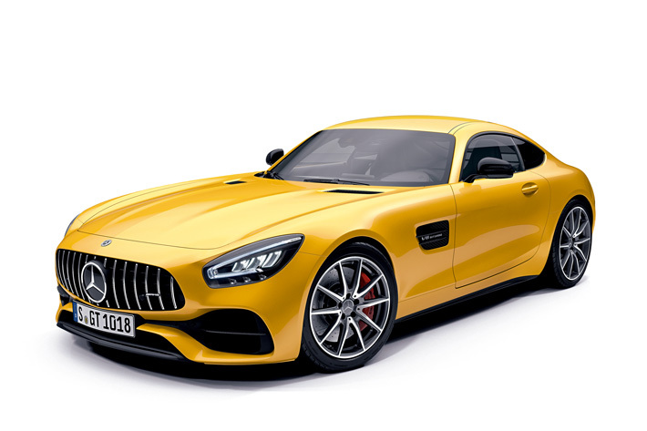メルセデス・ベンツ、新型メルセデスAMG GTを発表   価格は1645万円から
