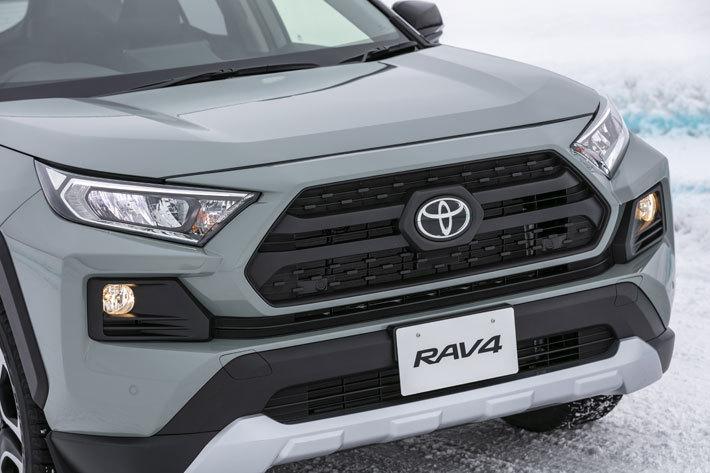 欧州向け2022年モデル「RAV4 HYBRID Adventure(ハイブリッド アドベンチャー)」, 現行型の日本仕様「RAV4 ADVENTURE」(ガソリン)