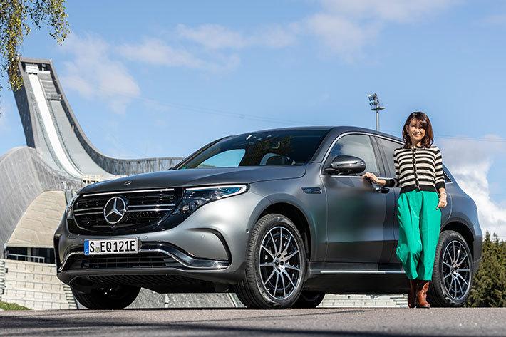 メルセデス・ベンツの新型ピュアEV「EQC」海外試乗|自動車製造のパイオニアが作るとEVはこうなる!