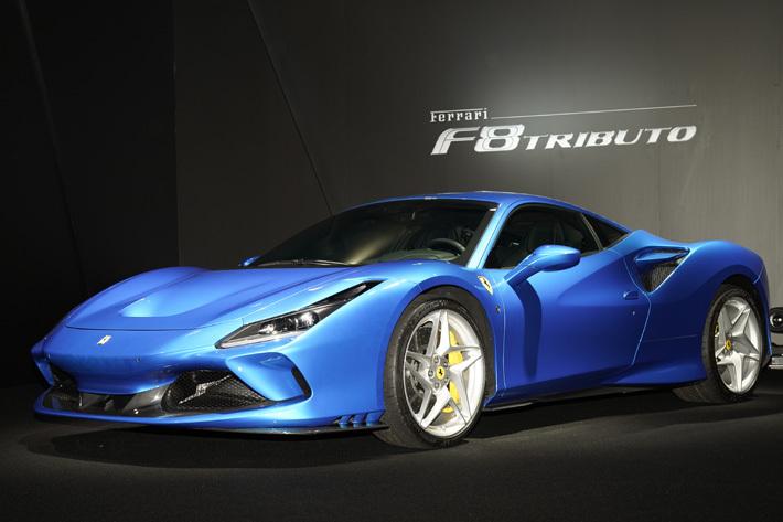 フェラーリ 新型「F8 Tributo」が登場