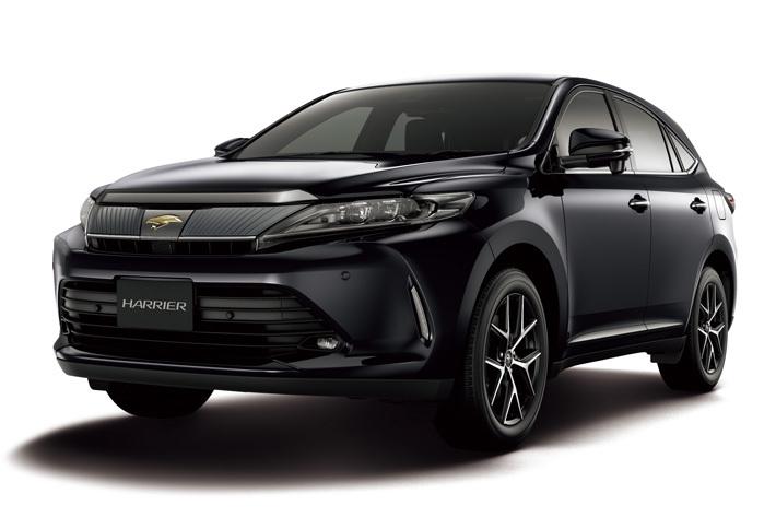 トヨタ ハリアーにブラック基調の特別モデルが登場|安全装備を充実