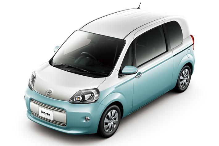 トヨタ ポルテ/スペイドの安全装備を充実させ販売|特別仕様車も