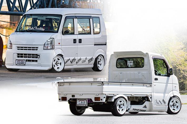 働く男のスポーツカー!? 実用性と走りを兼ね備えカッチリとキマる | キャリイ/エブリイバン 「CLS VS(バンシリーズ)」| ESB【Vol.2】