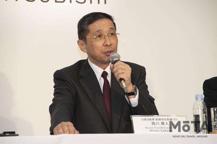 日産CEO 西川 廣人氏