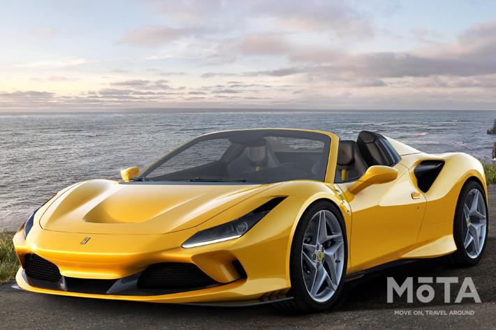 フェラーリがF8 Spiderを発表!