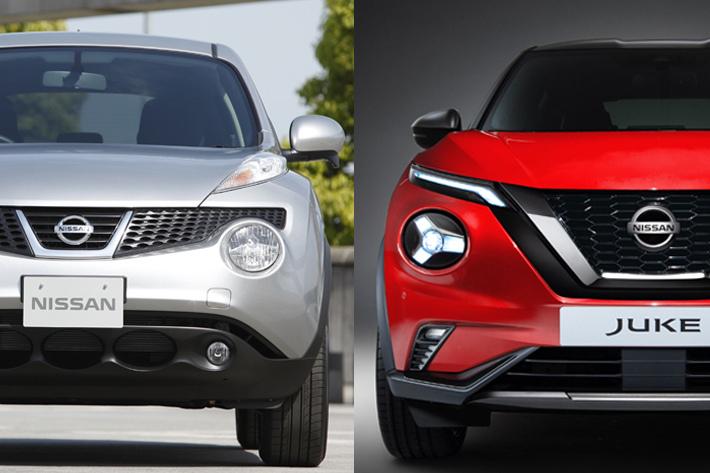 日本では未発売!? 新型「日産ジューク」新旧モデル比較