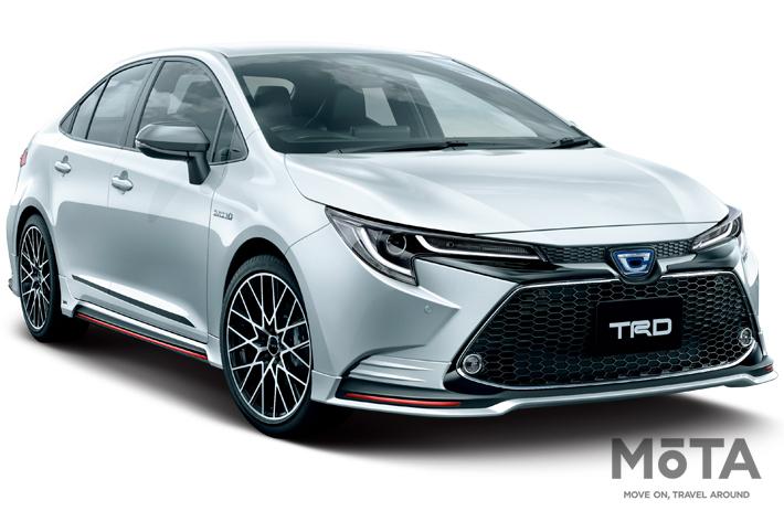 トヨタ 新型カローラ/カローラツーリングにTRDパーツが登場