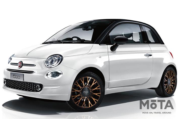 フィアット 限定車「Fiat 500/500C 120th Tuxedo」を発売