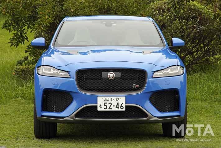 ジャガー 新型F-PACE SVR試乗|SUV界のスポーツカーが日本上陸
