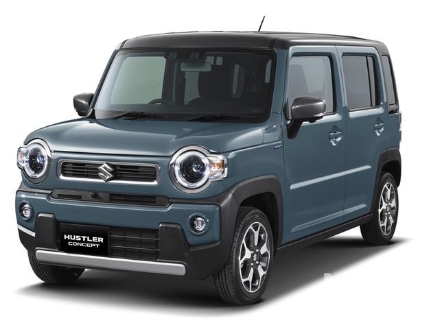 新型ハスラーを世界初公開|スズキ、東京モーターショー2019出展車両を発表【東京モーターショー2019】