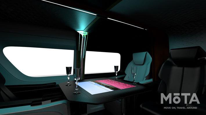インテリアコンセプト「Resort Tourer Concept」