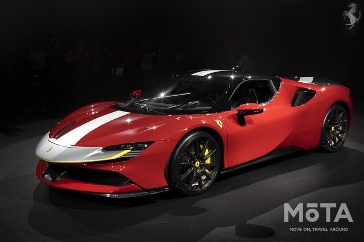 ついにフェラーリもハイブリッド4WD化!|フェラーリ SF90 Stradale 日本発表