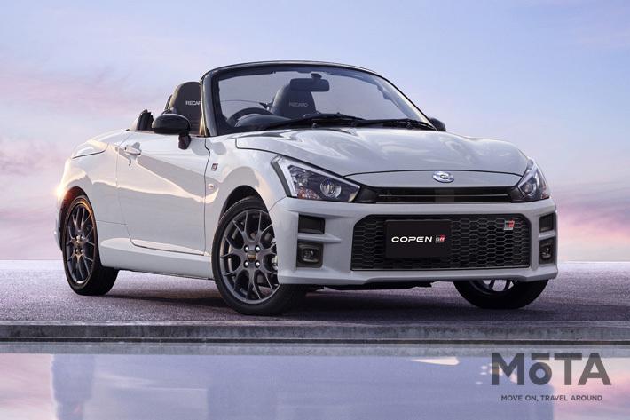 自動車メーカーの垣根を超えたコラボが実現!|トヨタから軽スポーツ「コペン GR SPORT」が発売