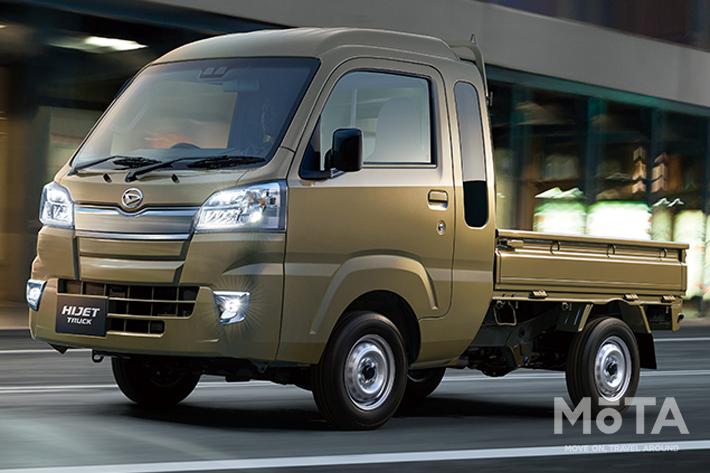 ダイハツ 軽商用車「ハイゼットトラック」を一部改良|安全性能が更に深化
