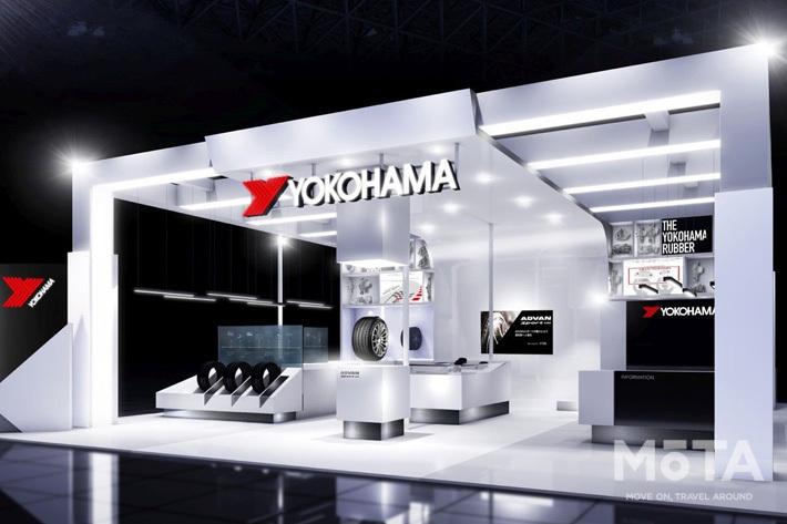 横浜ゴム、自動で穴をふさぐコンセプトタイヤなどを展示【東京モーターショー2019】