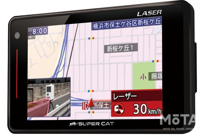 ユピテル 車載レーダー探知機に新製品「LS700」が登場