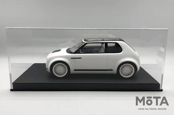ホンダ アーバンEVコンセプトのミニカーが登場!|実際のコンセプトカーだけに採用された仕様もそのまま再現
