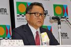 日本自動車工業会の会長を務めるトヨタ自動車 豊田章男社長