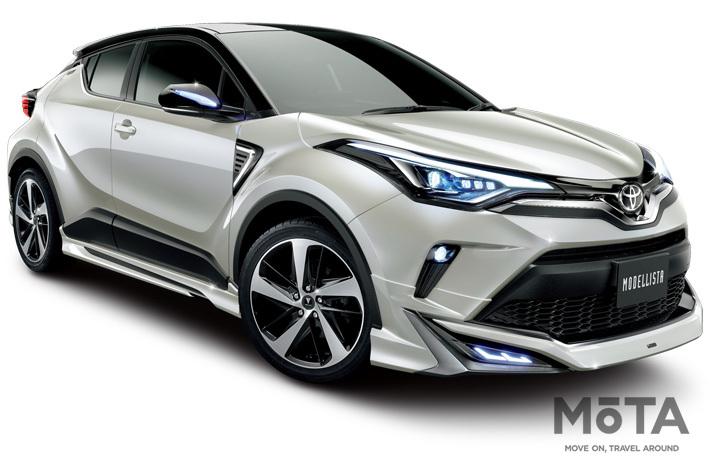 トヨタ 新型C-HR用 モデリスタパーツが登場