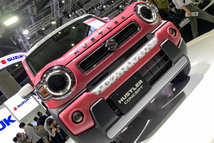 新型ハスラーは充実の運転支援機能で大胆進化!【東京モーターショー2019】