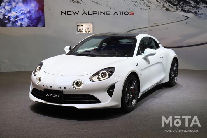 フランスの個性派、日本初公開のアルピーヌA110Sと新型ルーテシアを展示【東京モーターショー2019】