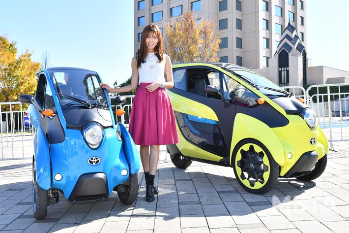 ちなってぃーが行く!【東京モーターショー2019】 vol,4│OPEN ROADで、超小型モビリティを試乗体験!
