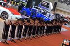 平日の夜にモーターショー見学|日産ブース(西ホール)で閉館間近に行われるミスフェアレディたちのご挨拶【東京モーターショー2019】