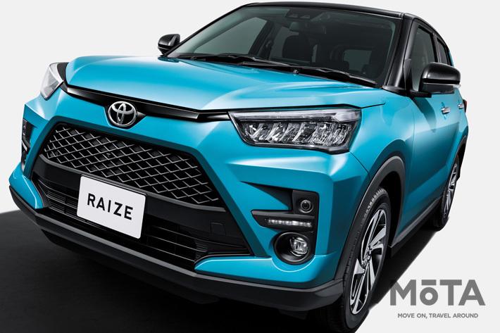 トヨタ 新型コンパクトSUV「ライズ」を発売|ダイハツ製ミニRAV4が登場