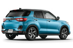トヨタ 新型車ライズ Z 2WD ブラックマイカメタリック×ターコイズブルーマイカメタリック