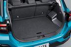 トヨタ 新型車ライズ ラゲージアレンジ (デッキボード上段時)